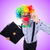 divertente · clown · imprenditore · isolato · bianco · business - foto d'archivio © elnur