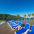 nice swimming pool outdoors on bright summer day stock photo © elnur