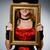 vrouw · piraat · fotolijstje · geïsoleerd · witte · zwarte - stockfoto © elnur