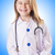 little girl in doctor costume stock photo © elnur