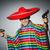 男 · メキシコ料理 · 拳銃 · グレー - ストックフォト © elnur