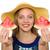 portret · kobieta · melon · zdrowia · owoce · młodych - zdjęcia stock © elnur