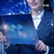 üzletasszony · online · stock · kereskedés · üzlet · nő - stock fotó © elnur