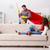 superhero husband helping his wife at home stock photo © elnur
