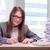 femme · d'affaires · travail · bureau · femme · travaux · affaires - photo stock © Elnur