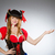woman pirate wearing hat and costume stock photo © elnur