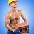 construtor · dolorido · cabeça · trabalhar · triste · trabalhador - foto stock © elnur