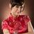 kadın · çekici · Çin · elbise · geleneksel - stok fotoğraf © elwynn