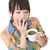 tired asian woman with cup of coffee stock photo © elwynn