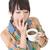 donna · Cup · isolato · bianco · alimentare - foto d'archivio © elwynn