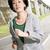 running sport mature woman of asian stock photo © elwynn