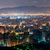 şehir · gece · sahne · ofis · Bina · gün · batımı · manzara - stok fotoğraf © elwynn