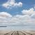 deniz · büro · tablo · boş · ahşap · güverte - stok fotoğraf © elwynn