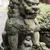 bronze lion statue stock photo © elwynn