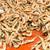 shrimps at a market in istanbul stock photo © elxeneize