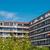 apartment houses with red bricks stock photo © elxeneize