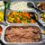 salata · mısır · salatalık · gıda · sebze · yemek - stok fotoğraf © elxeneize