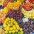 narancsok · almák · őszibarackok · vásár · piac · gyümölcs - stock fotó © elxeneize