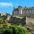 城 · スコットランド · 中世 · 花 · 建物 - ストックフォト © elxeneize