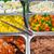 Sałatka · zdrowa · żywność · zdrowia · dziedzinie · zielone · pieprz - zdjęcia stock © elxeneize