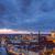 Berlijn · nacht · huis · gebouw · straat · kerk - stockfoto © elxeneize