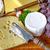 uvas · cuchillo · bordo · calidad · lujo - foto stock © elxeneize