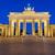 ベルリン · ブランデンブルグ門 · 建物 · 市 · 夏 · 旅行 - ストックフォト © elxeneize