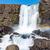 IJsland · waterval · park · hemel · voorjaar · reizen - stockfoto © elxeneize