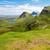 green landscape on the isle of skye stock photo © elxeneize