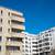 modern apartments seen in berlin stock photo © elxeneize