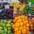 various fruits at a market stock photo © elxeneize