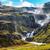 rivier · IJsland · wolken · hemel · bergen · water - stockfoto © elxeneize
