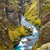 峡谷 · 川 · アイスランド · 岩 · 山 · 自然 - ストックフォト © elxeneize
