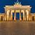 estatua · victoria · Berlín · edificio · arte · azul - foto stock © elxeneize