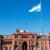 argentín · zászló · Buenos · Aires · ház · épület · város - stock fotó © elxeneize
