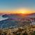 Сицилия · мнение · древних · дороги · тумана · город - Сток-фото © elxeneize