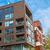 квартиру · балкона · растений · здании · деревья - Сток-фото © elxeneize