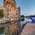 Berlín · amanecer · iglesia · azul · horizonte · luces - foto stock © elxeneize