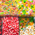 great choice of candy at a market stock photo © elxeneize