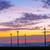 windturbine · zonneschijn · blauwe · hemel · gras · technologie - stockfoto © elxeneize