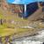 the hengifoss waterfall in iceland stock photo © elxeneize