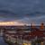 centro · Berlim · noite · torre · nuvens · cidade - foto stock © elxeneize
