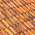 old and dirty red roof tiles stock photo © elxeneize