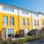 colorful terraced housing in berlin stock photo © elxeneize
