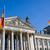 zászlók · híres · Berlin · égbolt · épület · kék - stock fotó © elxeneize