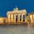 Puerta · de · Brandenburgo · Berlín · noche · tiro · edificio · arte - foto stock © elxeneize