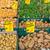 ternera · solomillo · patatas · a · la · parrilla · rojo · madera - foto stock © elxeneize
