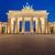 ブランデンブルグ門 · ベルリン · ゲート · ドイツ · 月 · 像 - ストックフォト © elxeneize