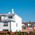 lakás · házak · modern · égbolt · épület · építkezés - stock fotó © elxeneize