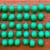 green construction helmets stock photo © elxeneize